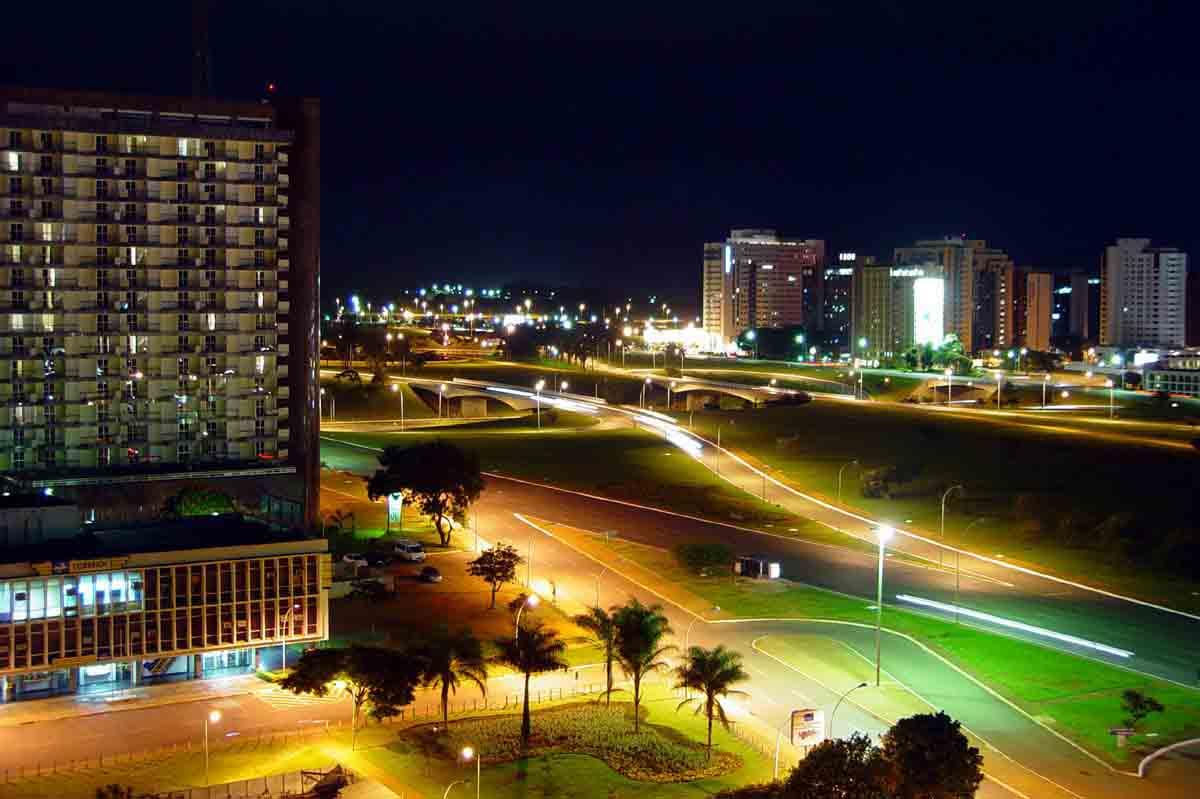 Brasília é uma delícia no mês de Janeiro