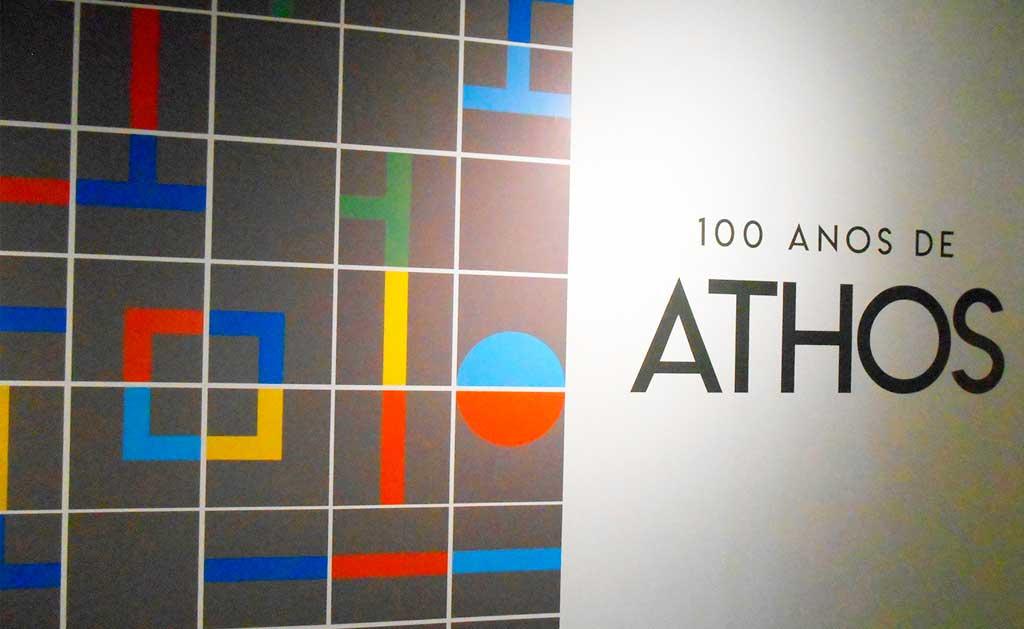 Exposição100 anos de Athos Bulcão