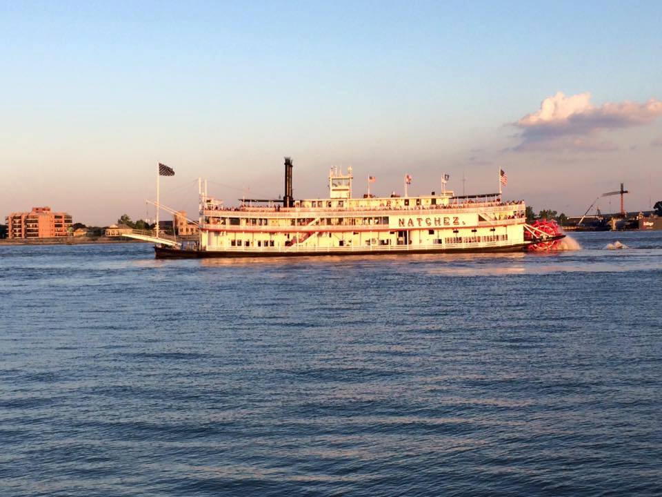 Natchez Steamboat em Nova Orleans Cultura Alternativa
