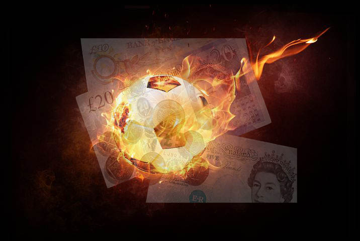 Salário por gol no futebol