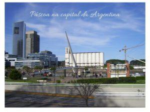 Páscoa na capital da Argentina