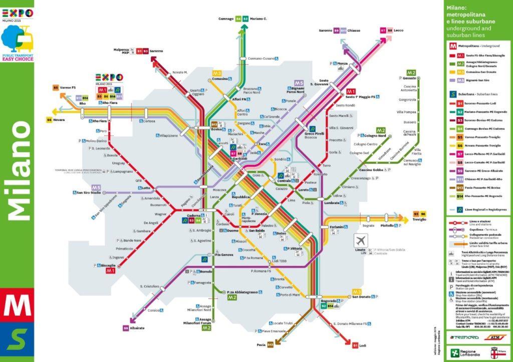 O Metrô de Milão, Caminhos e Descaminhos