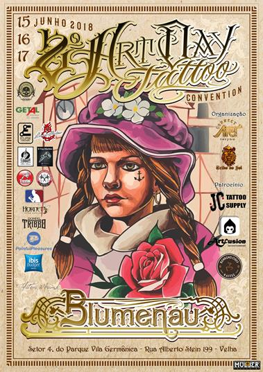 Art Day Blumenau Tattoo Convention