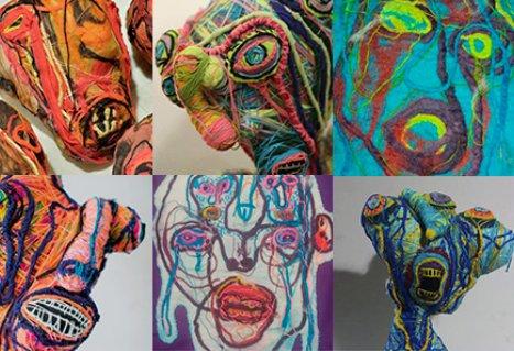 Exposição TRANSfigurações e as artes incríveis de Thomas Josué