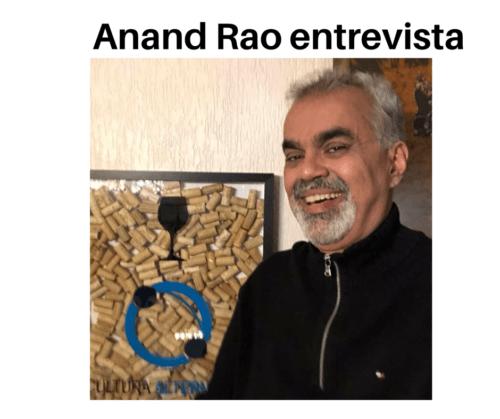 ANAND RAO ENTREVISTA