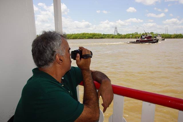 Anand Natchez Steamboat em Nova Orleans