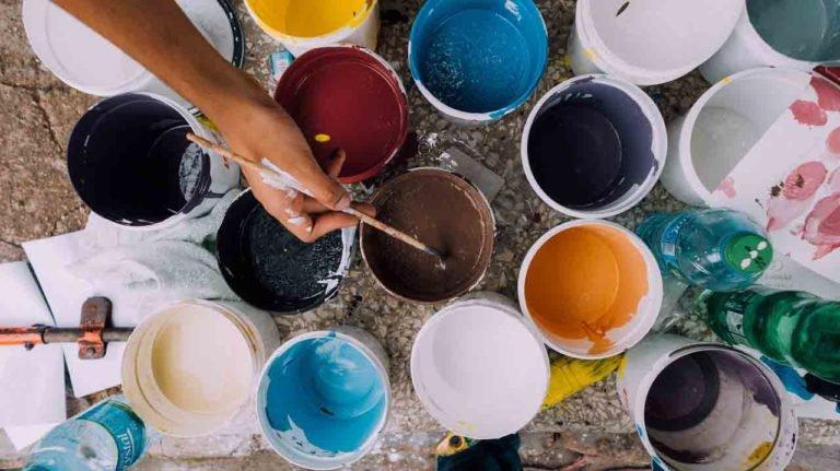 Artes Plásticas em Tiradentes - Tintas