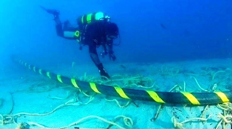 Cabos submarinos de redes