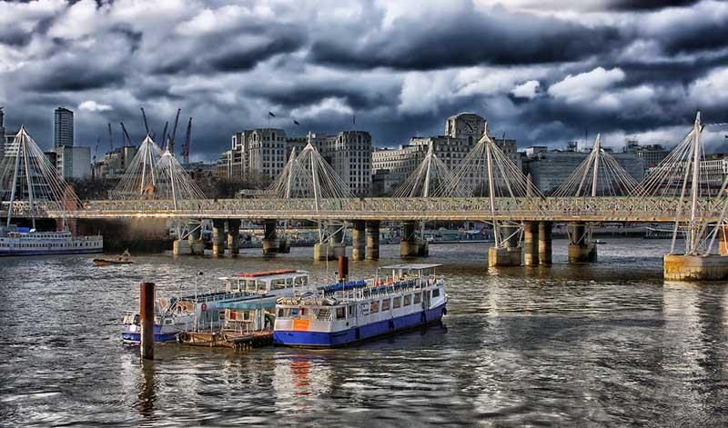 Chuvas em Londres
