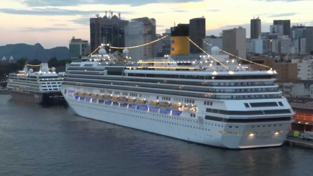 Travessia Brasil-Europa a bordo do navio Costa Favolosa
