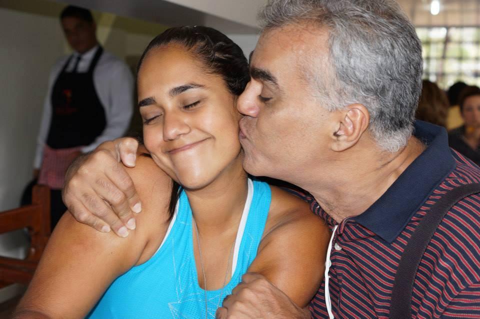Raíssa Adusumilli - Honra ser seu pai.