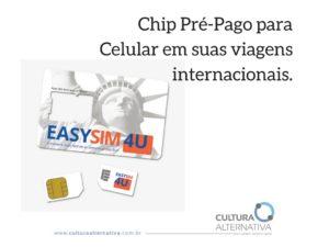 Chip Pré-Pago para Celular