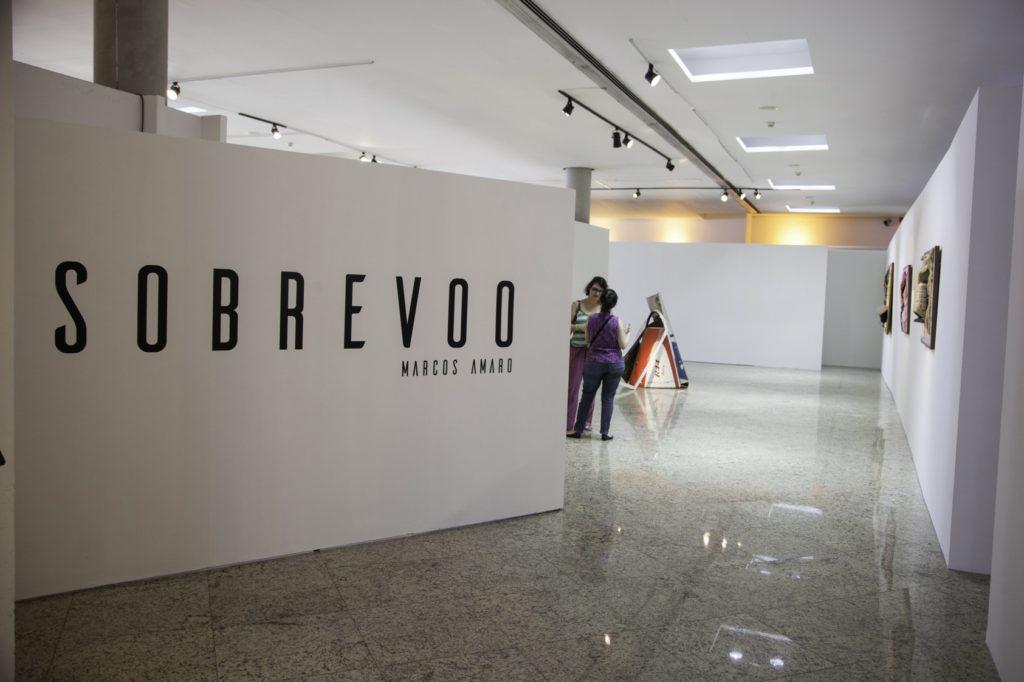 EXPOSIÇÃO SOBREVOO, ESCULTURAS A PARTIR DE AVIÕES DESCONSTRUÍDOS