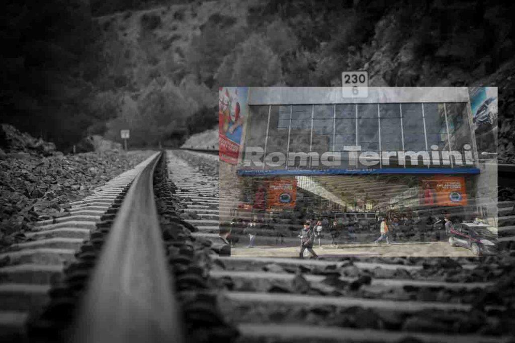 Turismo na Itália - Estação de Trem Roma Termini