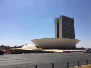 Passeio turístico em Brasília.