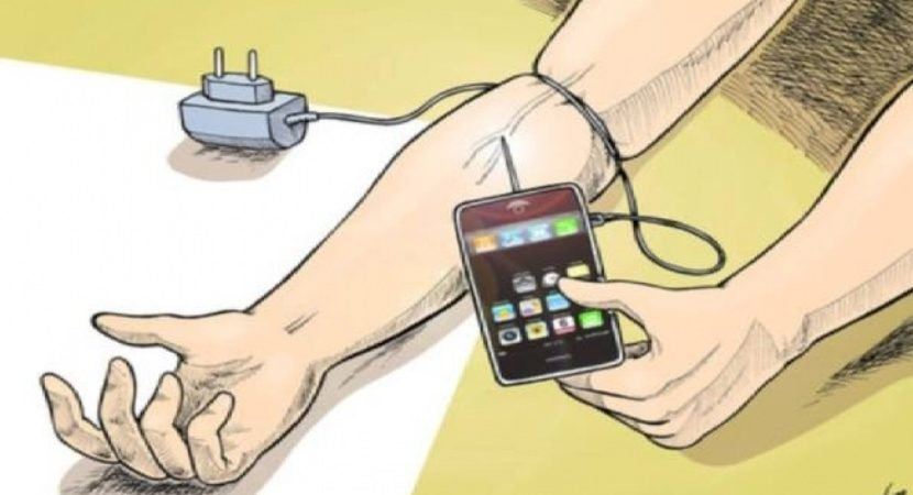 Resultado de imagem para dependencia do telefone celular