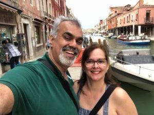 Caminhos e Descaminhos na Itália. Turismo na Itália. Murano a Ilha do Vidro