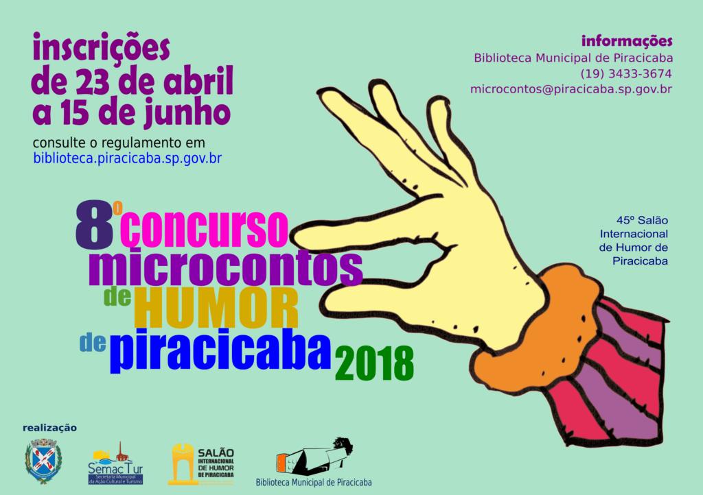 Concurso Microcontos de Humor de Piracicaba