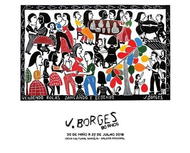 Exposição celebra os 80 anos do xilogravurista J. Borges