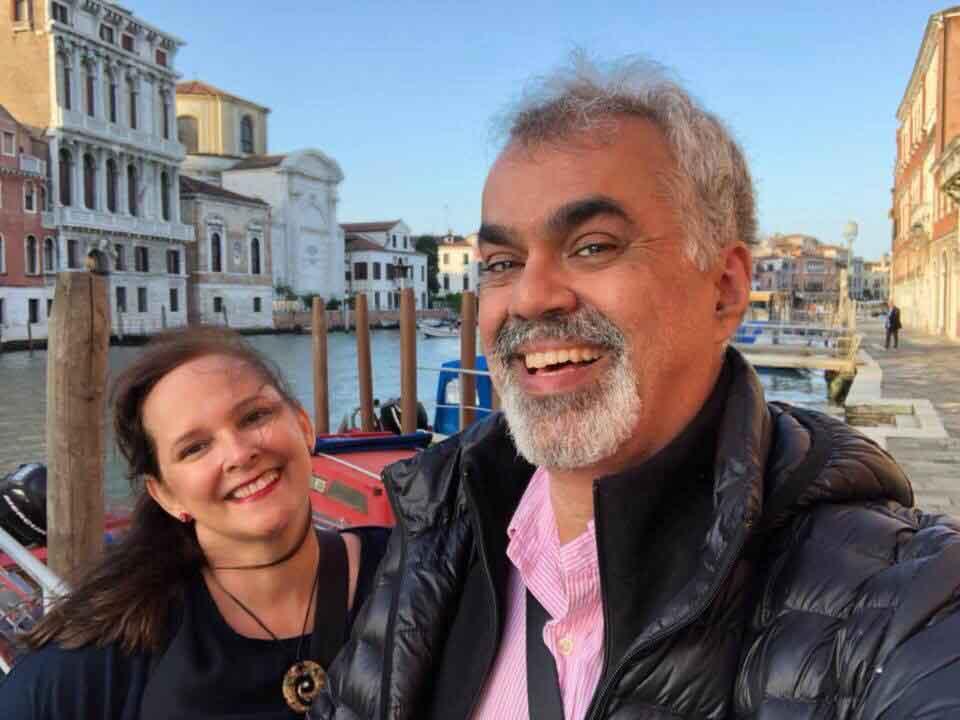 Caminhos e Descaminhos na Itália. Turismo na Itália. A pé em Veneza.