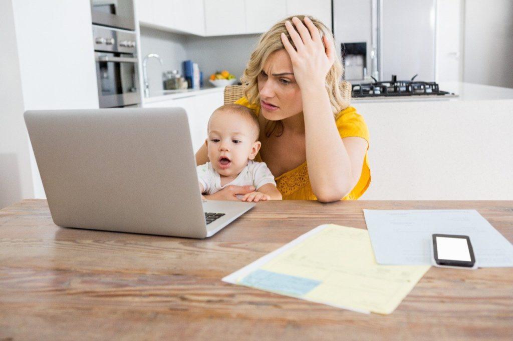 ser mãe em tempo integral