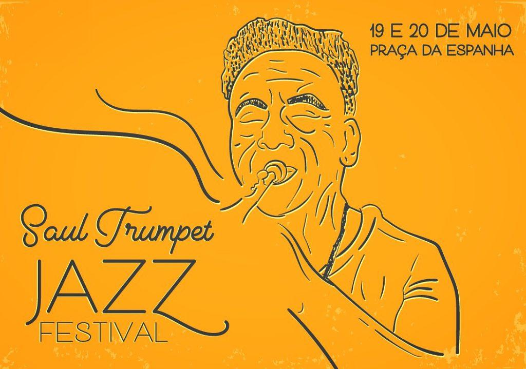 Praça da Espanha , tributo a Saul Trumpet