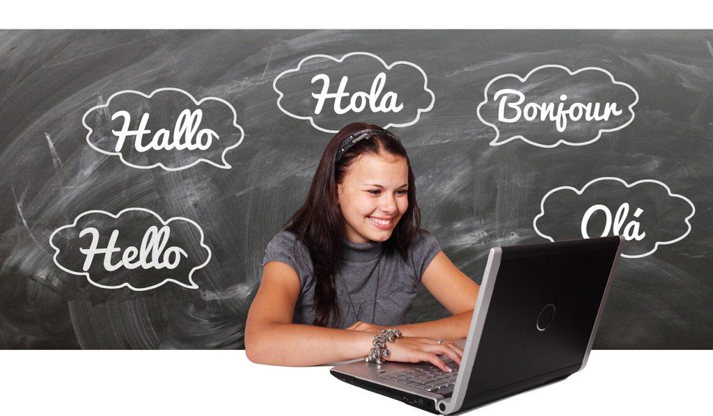 aprender uma língua estrangeira