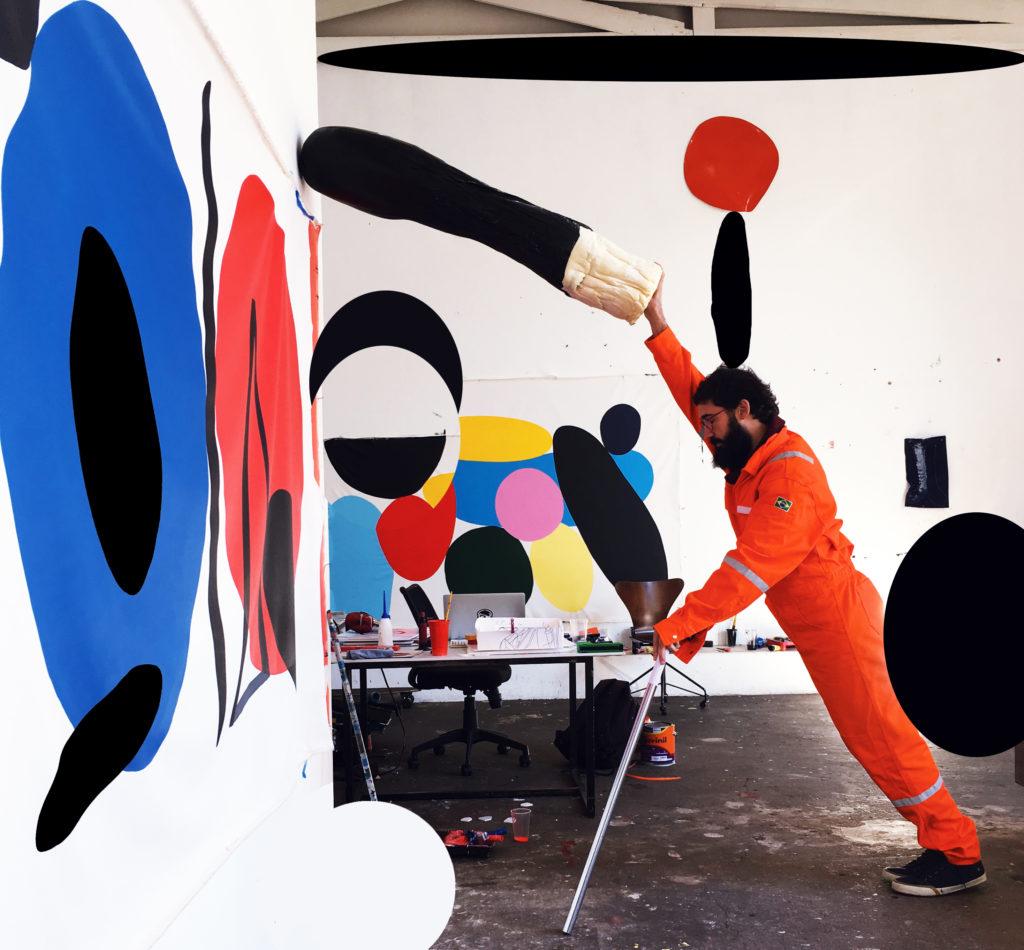 André Mendes abre exposição individual em Paris