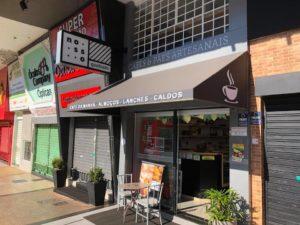 Gastronomia de Brasília. Nosso Quadrado Café.