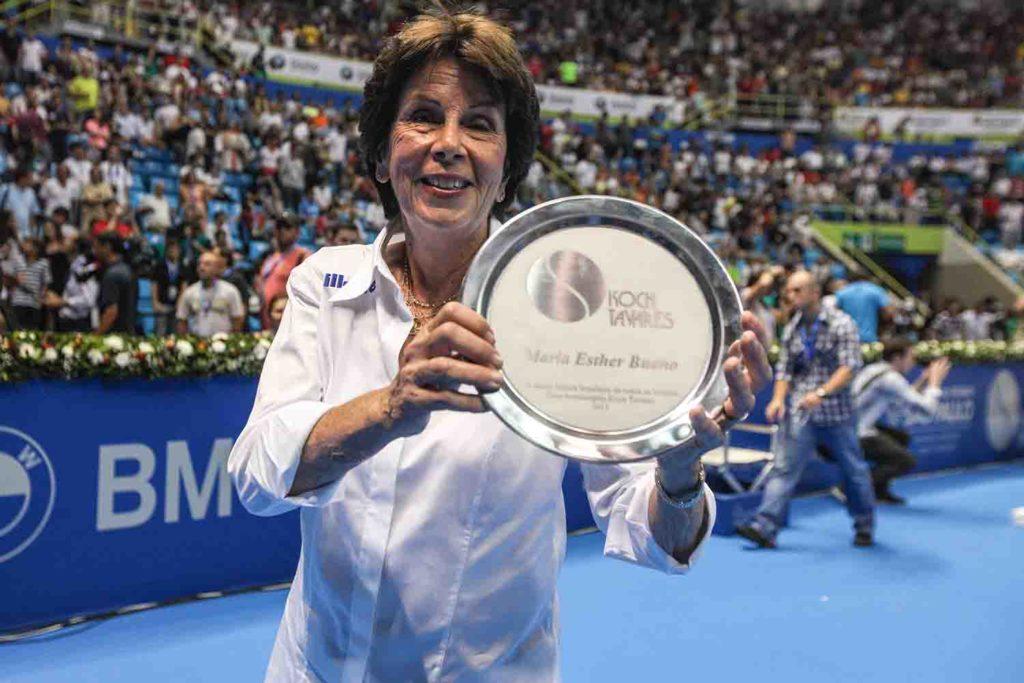 Maria Esther Bueno, o tênis no Brasil