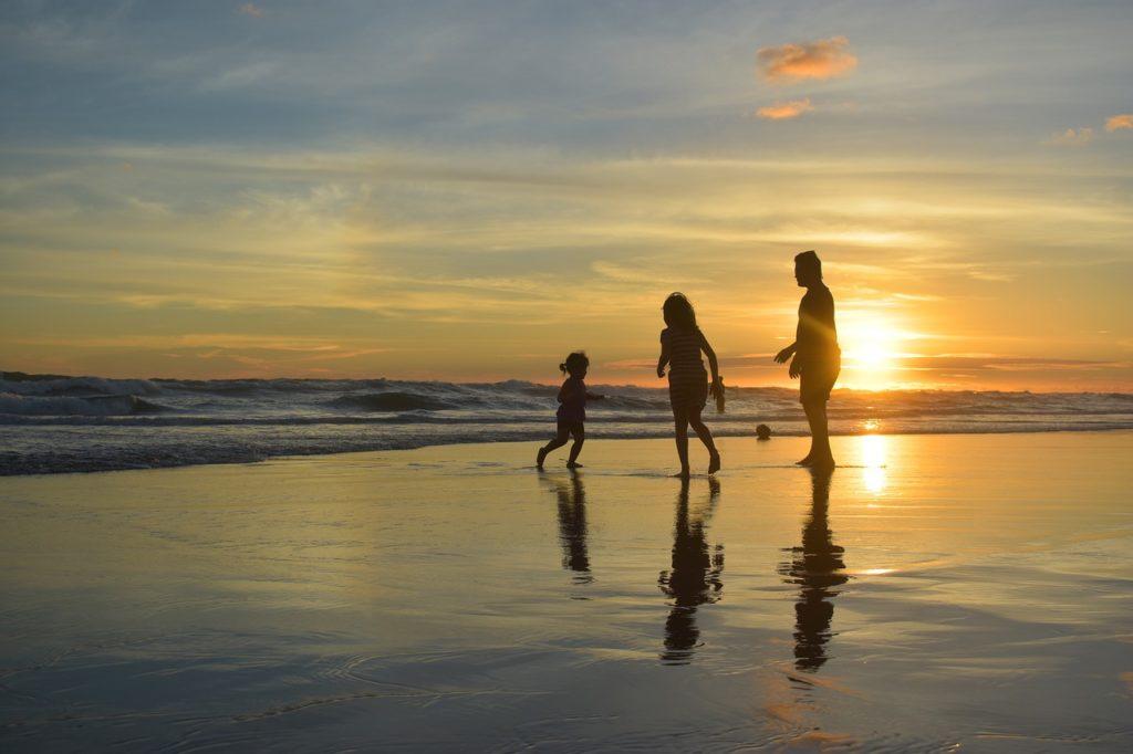 viagem de férias em família