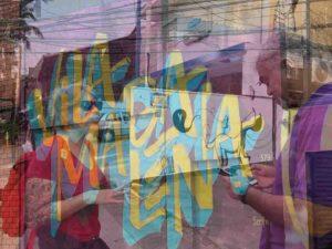 Experiências Airbnb. Grafites em São Paulo.