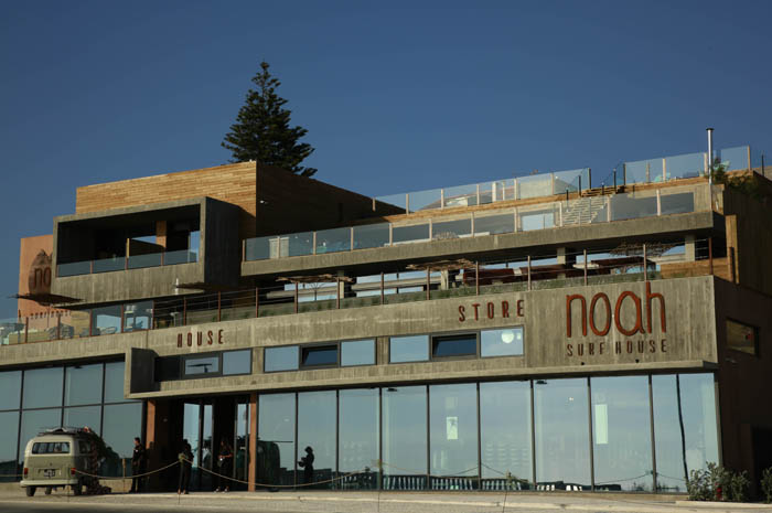 Noah Surf House - hotel dedicado ao mar e ao surfe