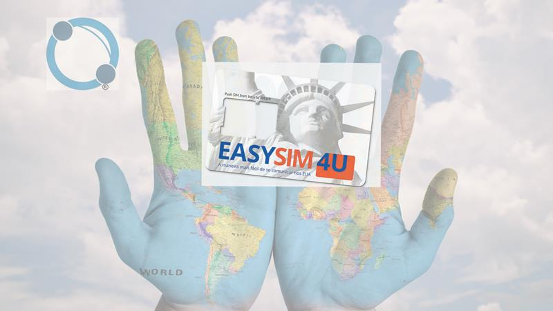 Chip Pré-Pago para Celular, Easysim4u, Chip Pré-Pago para Celular em suas viagens