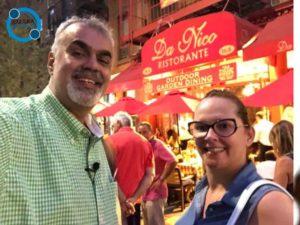 Da Nico Ristorante. Gastronomia em Nova York.