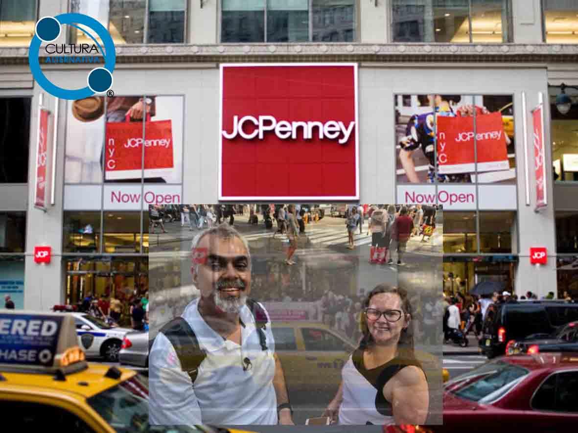 JCPenney. Loja de Departamento em Nova York.