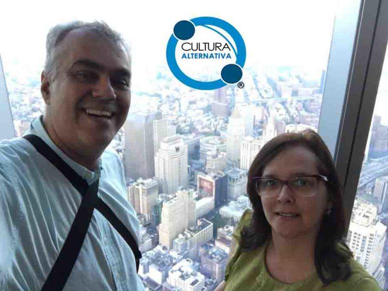 One World Trade Center Observatory. Pontos turísticos em Manhattan.