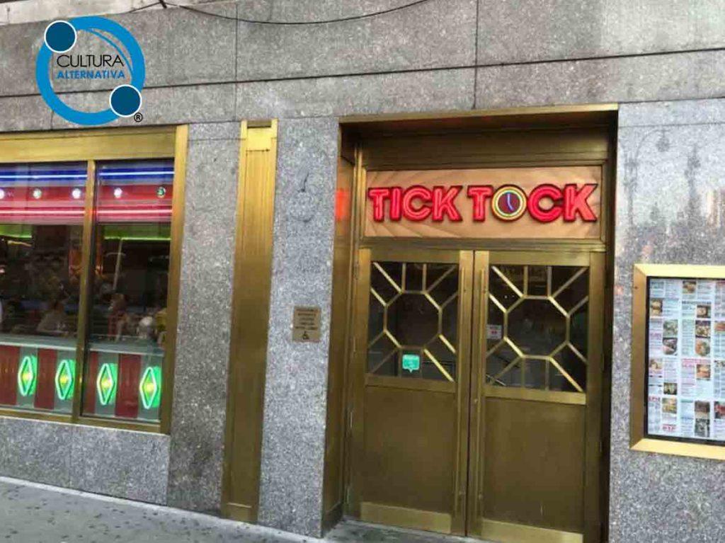Tick Tock. Gastronomia em Nova York.