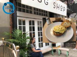 Egg Shop. Gastronomia em Nova York.