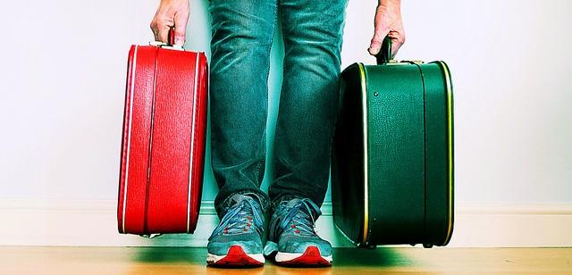 Fiscalização da mala de mão, bagagem de mão