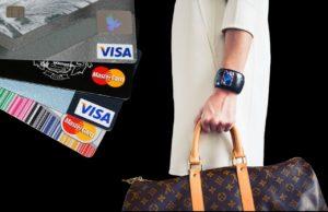 cartão de créditono exterior
