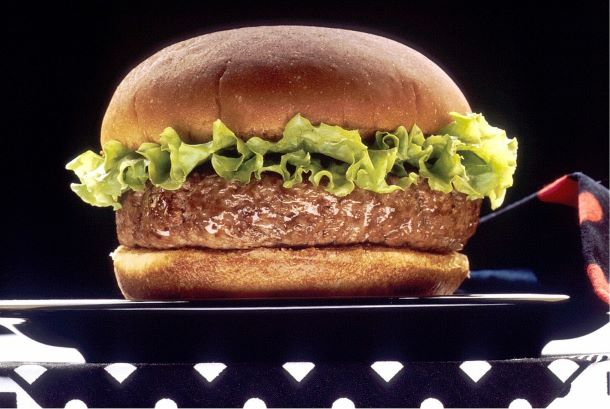 Segunda sem Carne, Hambúrguer de banana