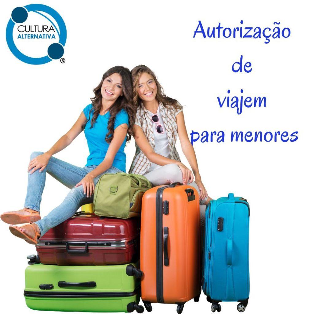 Autorização de viajem para menores