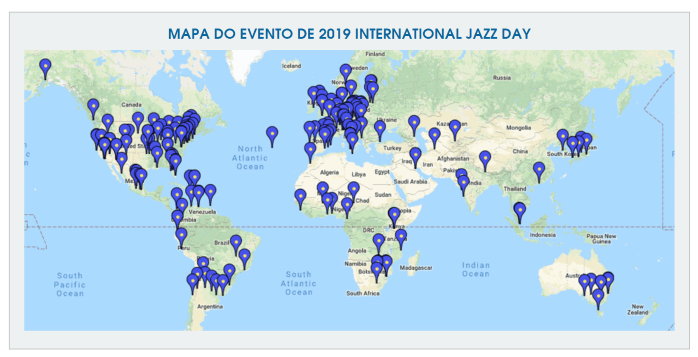 Dia Internacional do Jazz 2019