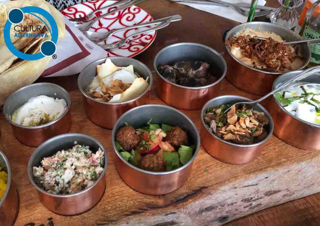 SAJ Culinária Libanesa. Gastronomia de São Paulo.