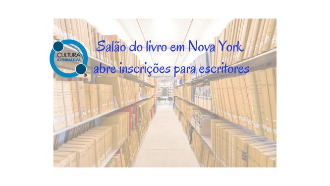 Salão do livro em Nova York