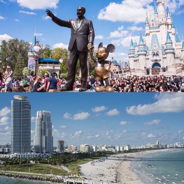 Miami ou Orlando