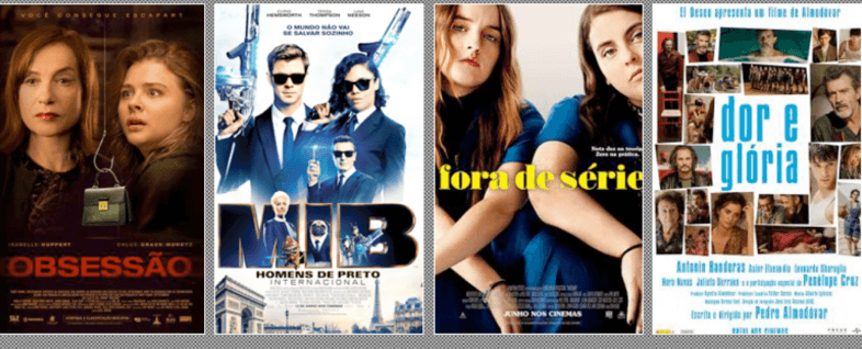 Estreias de Filmes em Junho