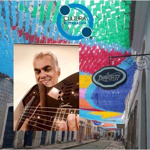 Anand Rao toca no Buriteco Café