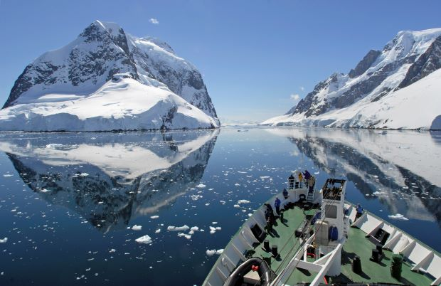 viagem à Antártica